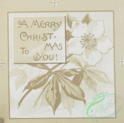 prang_cards_black-and-white-00122 - 0378-Christmas, Easter and New Year cards depicting landscapes, sunsets, flowers, girls and decorative design 105379