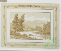 prang_cards_black-and-white-00132 - 0385-Birthday, Easter and Valentine cards depicting flowers and landscapes 105438