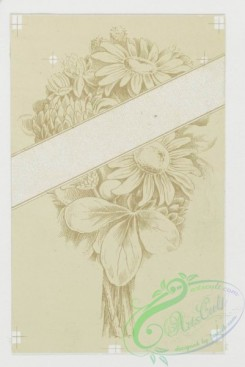 prang_cards_black-and-white-00145 - 0397-Valentines depicting bunches of flowers 105527