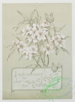 prang_cards_black-and-white-00182 - 0428-Easter cards depicting flowers and crosses 105743