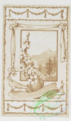 prang_cards_black-and-white-00193 - 0436-Easter and birthday cards depicting flowers, crosses, landscapes, and angels 105808