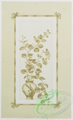 prang_cards_black-and-white-00198 - 0444-Easter cards depicting flowers, plants, vases and landscape paintings 105870