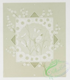 prang_cards_black-and-white-00209 - 0455-Christmas and Easter cards depicting a lamb, a cross, butterflies, children, sleds, swings, dogs and birds 105950
