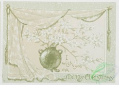 prang_cards_black-and-white-00218 - 0463-Christmas and New Year cards depicting flowers, draperies, and glass vases 106027