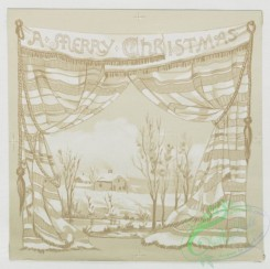 prang_cards_black-and-white-00231 - 0478-Christmas cards depicting children, angels, flowers, and winter landscapes 106108