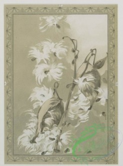 prang_cards_black-and-white-00260 - 0529-Easter cards with angels, butterflies, and plants 106450