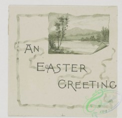 prang_cards_black-and-white-00284 - 0571-Easter cards depicting flowers, lily pads, and landscapes, Christmas cards depicting babies 106694
