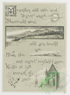 prang_cards_black-and-white-00296 - 0705-Come Sunshine, Come! 107401
