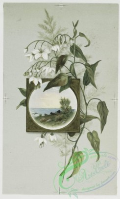 prang_cards_botanicals-00030 - 0444-Easter cards depicting flowers, plants, vases and landscape paintings 105868