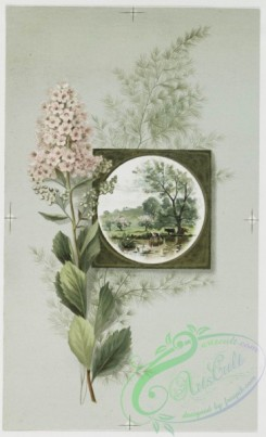 prang_cards_botanicals-00031 - 0444-Easter cards depicting flowers, plants, vases and landscape paintings 105869