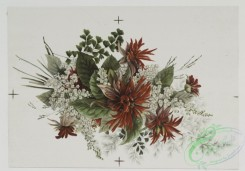 prang_cards_botanicals-00043 - 0498-Christmas, birthday, and Valentine cards depicting flowers 106255