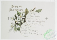 prang_cards_botanicals-00239 - 1075-Wedding Bells-Bride and Bridegroom, Relatives of Bridegroom, Brothers and sisters of Bride (text by Adelaide Proctor, Natherwell, Hardy, and Spens 100291