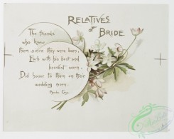 prang_cards_botanicals-00246 - 1076-Wedding Bells-Parents of Bride, Minister, Brothers and sisters of Bridegroom, Relatives of Bride (text by Jean Ingelow, Aldrich, Byron, and Phoebe 100298
