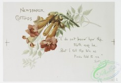 prang_cards_botanicals-00248 - 1078-Wedding Bells-Groomsmen, Newspaper Cuttings, Parents of Bridegroom (text by Spenser, Scott, and Joaquin Miller, with illustrations of flowers) 100304