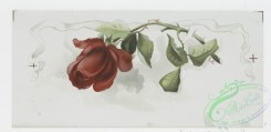 prang_cards_botanicals-00276 - 1163-Valentines and Christmas cards depicting flowers and portraits of women 100580