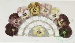 prang_cards_botanicals-00293 - 1175-Calendars and Christmas cards depicting a pansy arrangement, flowers, holly, fans, Valentines, umbrellas, and other seasonal trinkets 100647
