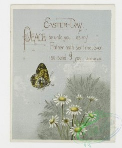 prang_cards_butterflies-00002 - 0131-Easter cards with decorative ornamentation, depicting flowers, butterflies and eggs 101219