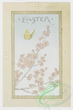 prang_cards_butterflies-00007 - 0215-Easter cards depicting nests, eggs, butterflies, birds, flowers, and plants 104104