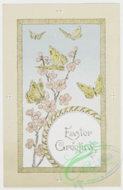 prang_cards_butterflies-00008 - 0215-Easter cards depicting nests, eggs, butterflies, birds, flowers, and plants 104105