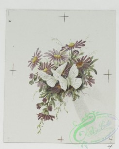 prang_cards_butterflies-00033 - 0697-Easter cards depicting flowers and butterflies 107330