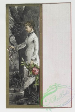prang_cards_holidays-00002 - 0024-Valentines depicting women with flowers 104319