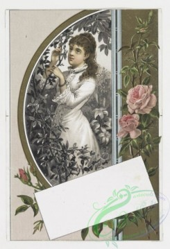 prang_cards_holidays-00003 - 0024-Valentines depicting women with flowers 104320