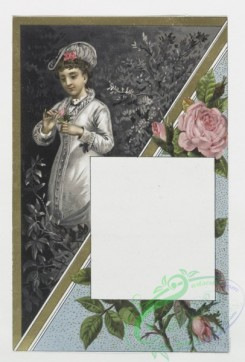 prang_cards_holidays-00006 - 0024-Valentines depicting women with flowers 104323