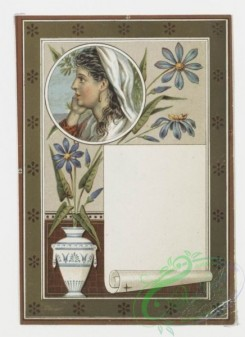 prang_cards_holidays-00017 - 0029-Birthday cards and Valentines depicting women and flowers 104757