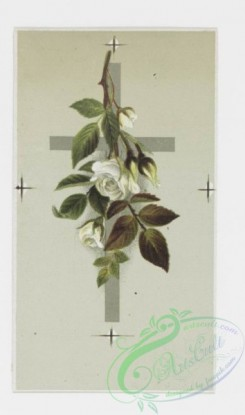 prang_cards_holidays-00060 - 0195-Easter cards depicting flowers on crosses, trees with birds 103937