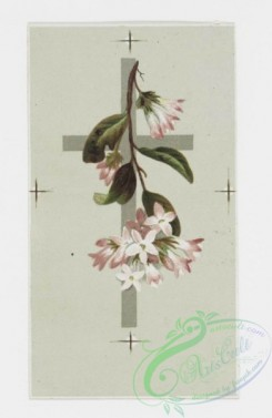 prang_cards_holidays-00061 - 0195-Easter cards depicting flowers on crosses, trees with birds 103938