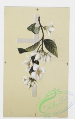 prang_cards_holidays-00066 - 0195-Easter cards depicting flowers on crosses, trees with birds 103943