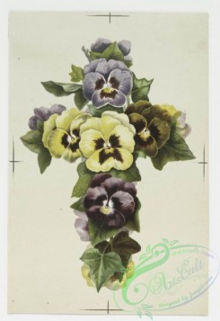 prang_cards_holidays-00087 - 0247-Easter cards depicting crosses, crowns and flowers 104302