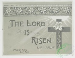 prang_cards_holidays-00136 - 0709-The Lord is Risen 107421
