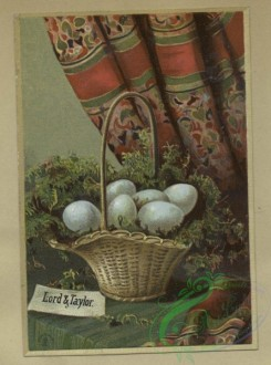 prang_cards_holidays-00179 - 1619-Trade cards depicting flowers, sailor boys, a curtain and a basket of eggs 102625