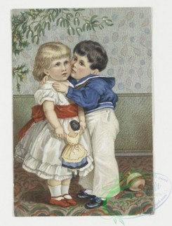 prang_cards_kids-00002 - 0016-Christmas, New Year, and Valentine cards depicting children playing, eating 103205
