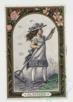 prang_cards_kids-00004 - 0050-Cards depicting the four seasons with young girl 106346