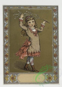 prang_cards_kids-00007 - 0052-Christmas and New Year cards depicting young girls, flowers and landscapes 106456