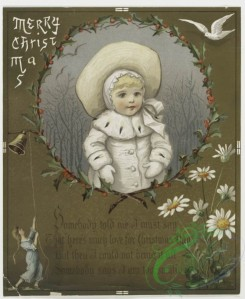 prang_cards_kids-00017 - 0199-Christmas cards depicting winter scenes, children, bells, carriages, and ornamental design 103971