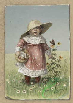 prang_cards_kids-00024 - 0219-Easter cards depicting angels, young girls, butterflies, eggs, and flowers 104126