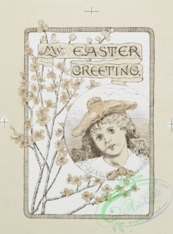 prang_cards_kids-00025 - 0219-Easter cards depicting angels, young girls, butterflies, eggs, and flowers 104128