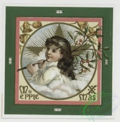 prang_cards_kids-00054 - 0362-Christmas and New Year cards depicting girls, stars, and flowers 105289