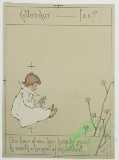prang_cards_kids-00073 - 0499-Birthday, Christmas, New Year, Valentine cards and calendars depicting children playing 106262