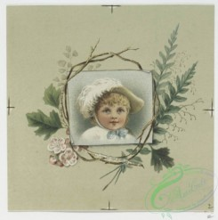 prang_cards_kids-00082 - 0575-Christmas, Easter and New Year cards depicting flowers, foliage and portraits of children 106723