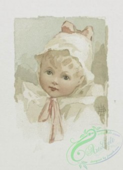 prang_cards_kids-00086 - 0575-Christmas, Easter and New Year cards depicting flowers, foliage and portraits of children 106732