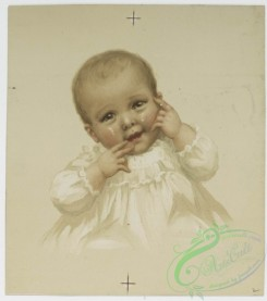 prang_cards_kids-00124 - 0809-Christmas cards depicting portraits of babies 107791