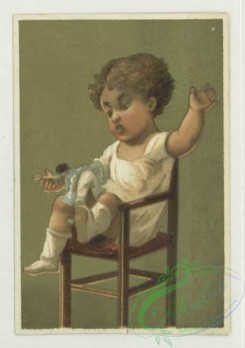 prang_cards_kids-00238 - 1732-Trade cards depicting children in high chairs 103372