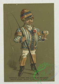 prang_cards_kids-00253 - 1793-Cards depicting children in the following professions-a coachman, a concierge, a jockey and a maid 103726