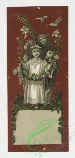 prang_cards_kids-00258 - 0007-Christmas cards depicting plants and children 107755
