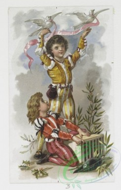 prang_cards_kids-00263 - 0011-Christmas and New Year cards depicting angels, children, and toys 100768