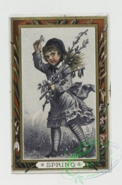 prang_cards_kids-00271 - 0050-Cards depicting the four seasons with young girl 106345